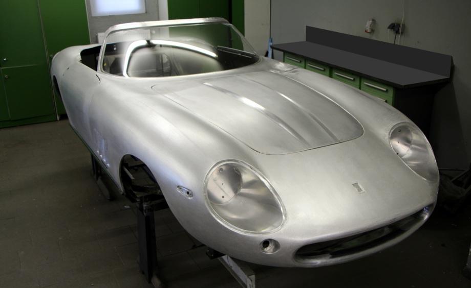 Ferrari Restauration Restoration Karosseriebau